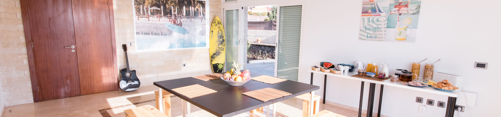 tenerife surf camp room booking